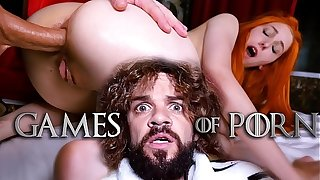Jean-Marie Corda presents Game Be beneficial to Porn parody: Just partial to Lady Sansa assfucked by her midget husband after giving him a deepthroat blowjob