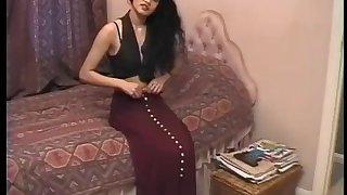Shabana Kausar Brit Indian Nymph Self-manipulation
