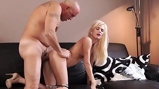 Aged man cumshot compilation Horny blondie wants to