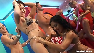 Shameless drunk girls hot XXX show